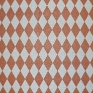 Deko, tisk, geometrijski, 17888-060, bakrena