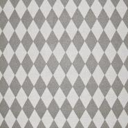 Deko, tisk, geometrijski, 17888-070, srebrna