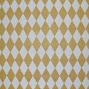 Deko, tisk, geometrijski, 17888-080, zlata