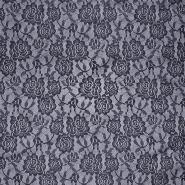 Čipka, elastična, 17903-008, modra