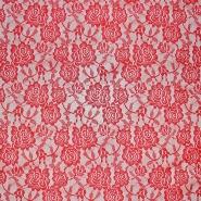 Čipka, elastična, 17903-015, rdeča