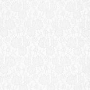 Čipka, elastična, 17903-050, bela