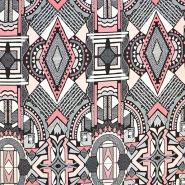 Jersey, viskoza, geometrijski, 17907-014