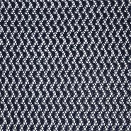 Čipka, geometrijski, 17930-008, modra
