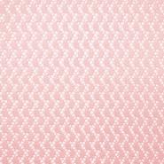 Čipka, geometrijski, 17930-011, roza