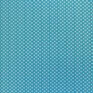 Jersey, bombaž, geometrijski, 17963-003, mint