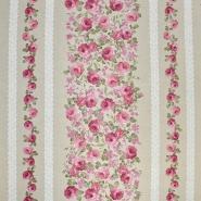 Deko, tisk, cvetlični, 15188-240