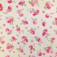 Deko, tisk, cvetlični, 15188-241