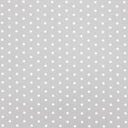 Deko, tisak, točke, 17979-49, siva