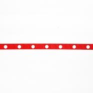 Band, dekorativ, 00255-031, rot
