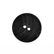 Knopf, für Anzüge, 17999-002. schwarz