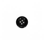Gumb, kostimski, moški, 18005-009, črna