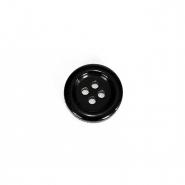 Gumb, kostimski, moški, 18006-009, črna