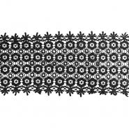 Čipka, 150mm, 18012-002, črna