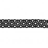 Čipka, 35mm, 18013-002, črna
