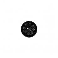 Gumb, kostimski, 18022-002, črna