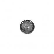 Gumb, kostimski, 25mm, 18029-040, srebrna