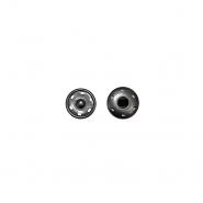 Magnetknöpfe, zum Annähen, 0,6cm, 18033-130, schwarz