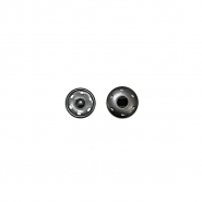 Pritiskači, prišivni, 0,6cm, 18033-130, črna