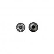Magnetknöpfe, zum Annähen, 0,8cm, 18034-130, schwarz