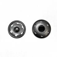 Magnetknöpfe, zum Annähen, 3 cm, 18037-130, schwarz