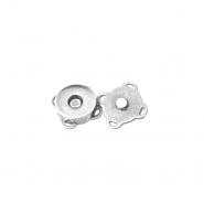 Magnetknopf, 18039-101, silbern