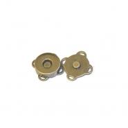 Magnetknopf, 18039-102, altgolden