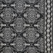 Wirkware, Polyester, geometrisch, 18052-852 - Bema Stoffe