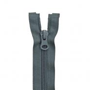 Zadrga, deljiva 80 cm, 6 mm, 2053-836, sivo modra