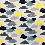 Jersey, bombaž, oblaki, 18090-3005