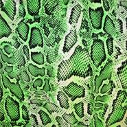 Svila, saten, živalski, 18094-111, zelena