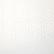 Deko žakard, obojestranski, geometrijski, 18110, smetana