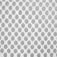 Čipka, nanos, pike, 18128-15, srebrna