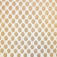 Čipka, nanos, pike, 18128-16, zlata