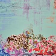 Bombaž, tisk, cvetlični, 18129-32