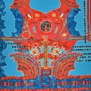 Deko, digitalni tisk, abstraktni, 18129-36