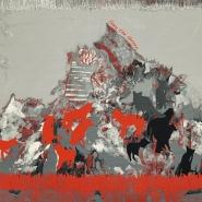 Jersey, Viskose, abstrakt, 18129-4
