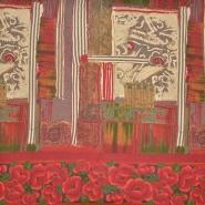 Jersey, viskoza, abstrakten, 18129-17