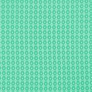 Čipka, krogi, 18132-20, mint