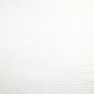 Bombaž, žakard, pike, 18143, off bela