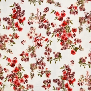 Saten, bombaž, cvetlični, 18159-02