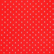 Jersey, organski bombaž, 18189-11, rdeča