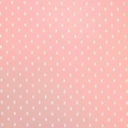 Jersey, organski bombaž, 18190-12, roza
