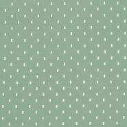 Jersey, organski bombaž, 18190-10, sivo zelena