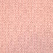 Jersey, organski bombaž, ornamentni, 18192-12, roza