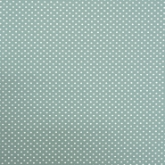 Jersey, Baumwolle, Punkte, 18216-04, mintgrün