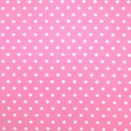 Jersey, bombaž, pike, 18217-12, roza