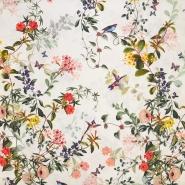 Saten, bombaž, cvetlični, 18159-19