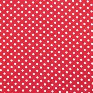 Jersey, bombaž, pike, 17621-015, rdeča
