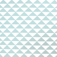 Deko, tisk, geometrijski, 17882-022, mint